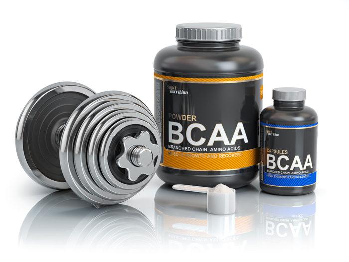 Nutrición deportiva BCAA